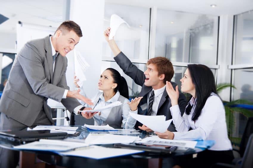 Erfolgreiches Parieren von verbalen Attacken
